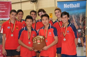 Champion Senior Boys Team