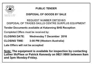 advert-public-tender-tsc-surplus-equipment-2016-re-tender-1